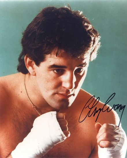 Gerry Cooney, American heavyweight boxer, signed 10x8 inch photo.